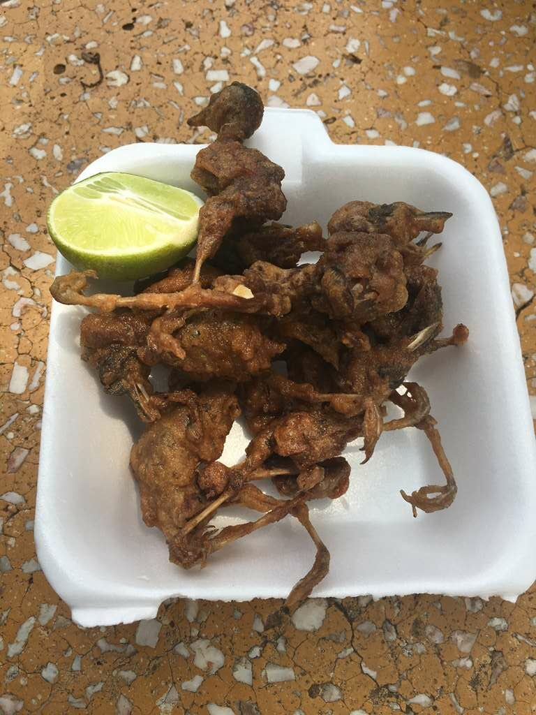 Fried Sparrow, Psar Chas Old Market, Siem Reap, Cambodia