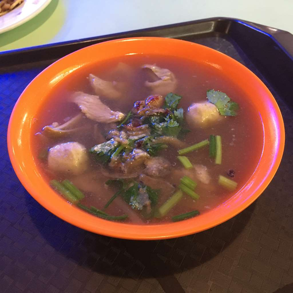Pigs Organ Soup, Old Airport Road Food Centre, Singapore